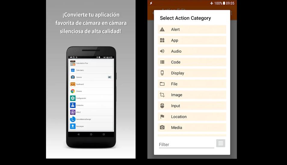 Para eliminar el sonido de WhatsApp también es necesario descargar una aplicación que se encuentra en Google Play. (Foto: Captura)