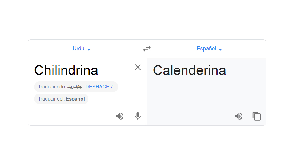 Se desconoce qué tiene de relación esta palabra con la