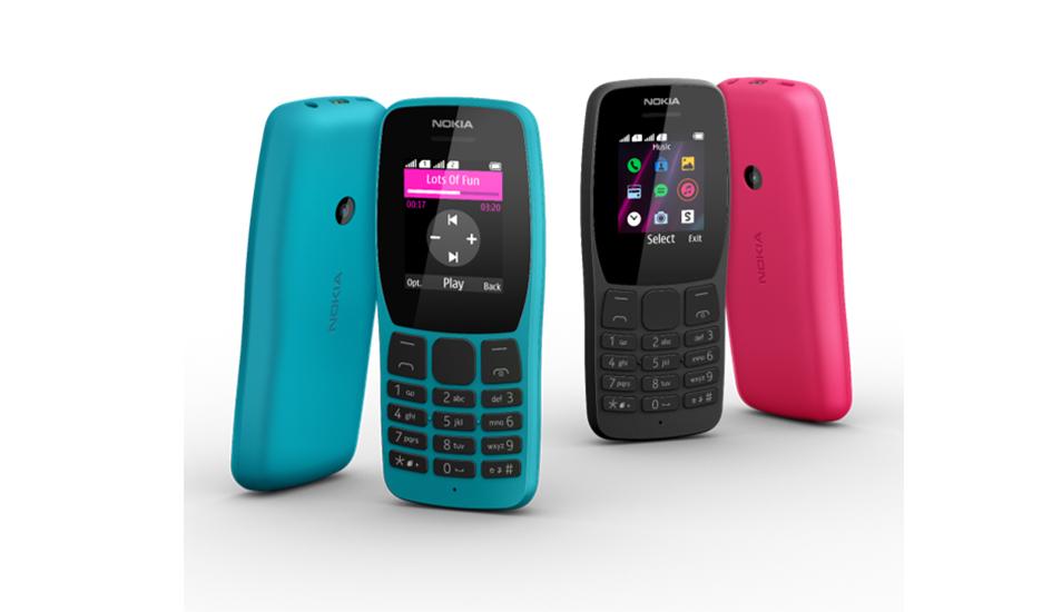 Así luce el nuevo Nokia 110, el modelo de HMD Global que llegará en diversos colores. (Foto: Nokia)