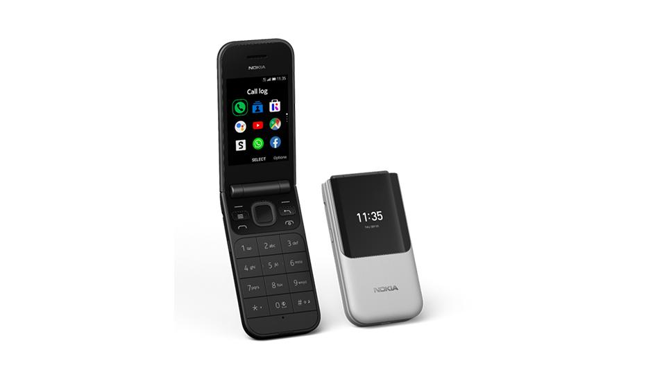 Así lucirá el nuevo celular Nokia 2720 Flip. (Foto: Nokia)
