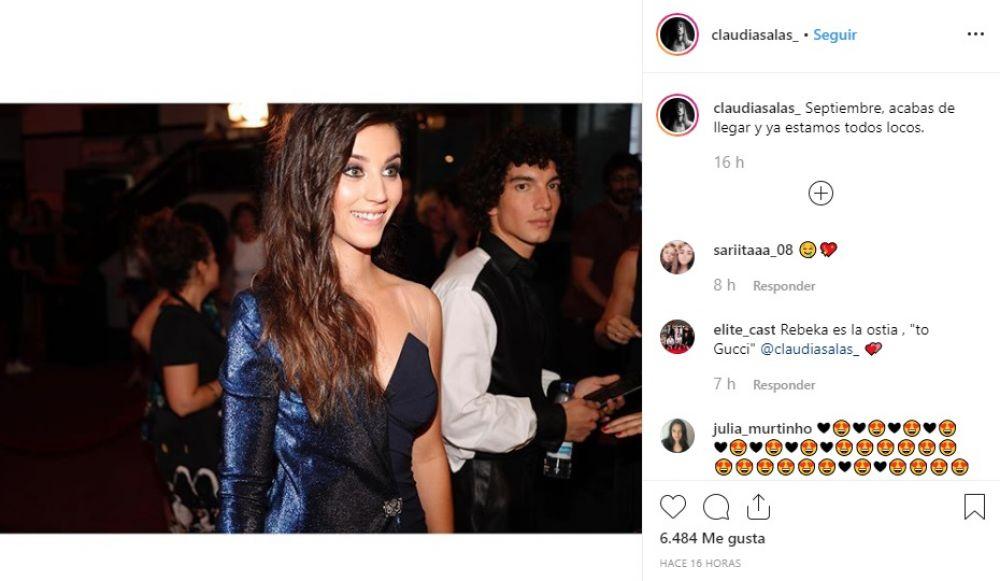 Claudia Salas, Jorge López y Georgina Amorós son los nuevos protagonistas de la serie española