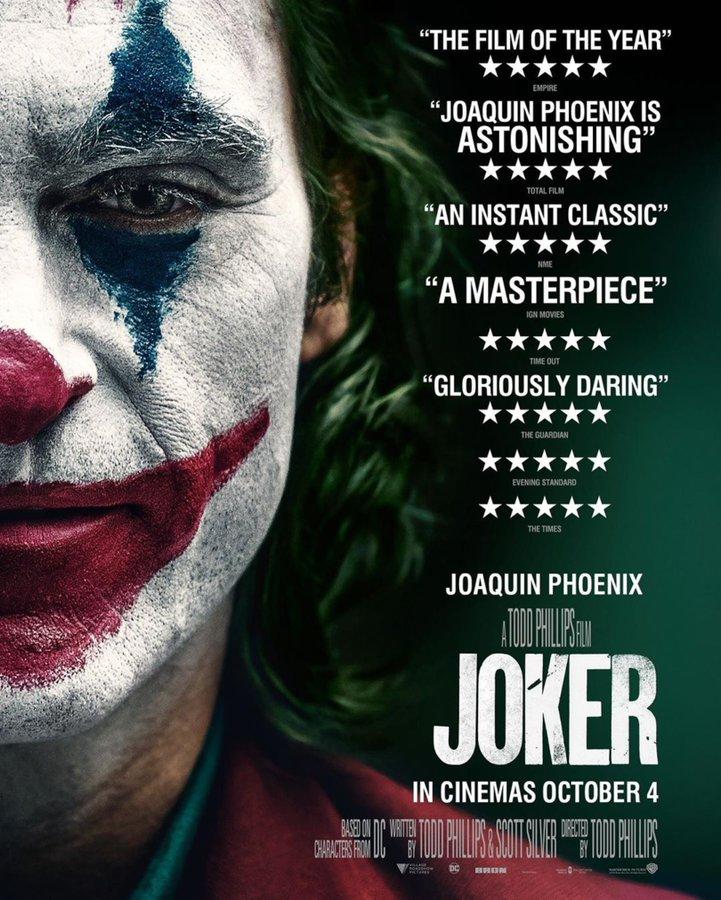 La película ha sido loada por los críticos antes de su estreno en octubre. (Foto: Twitter).