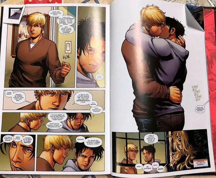 Alcalde de Río de Janeiro exigió que se retire de la Bienal del Libro el cómic de Marvel donde se muestra un beso gay. (Foto: Marvel Entertainment)