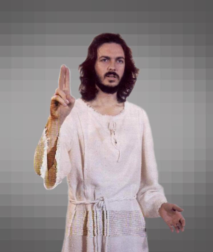 Camilo Sesto interpretó a Jesucristo en una obra musical. (Foto: Captura)