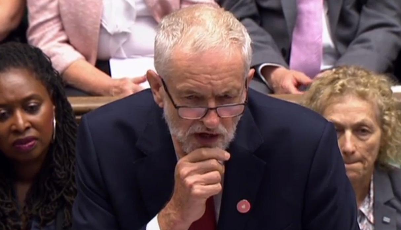 Jeremy Corbyn es el principal líder opositor al primer ministro, Boris Johnson. (Foto: AFP)