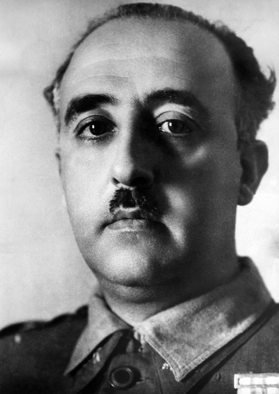 Retrato del general español Francisco Franco tomado alrededor de 1936. Franco fue uno de los dictadores reinantes más antiguos de Europa. (Foto: AFP/archivo)