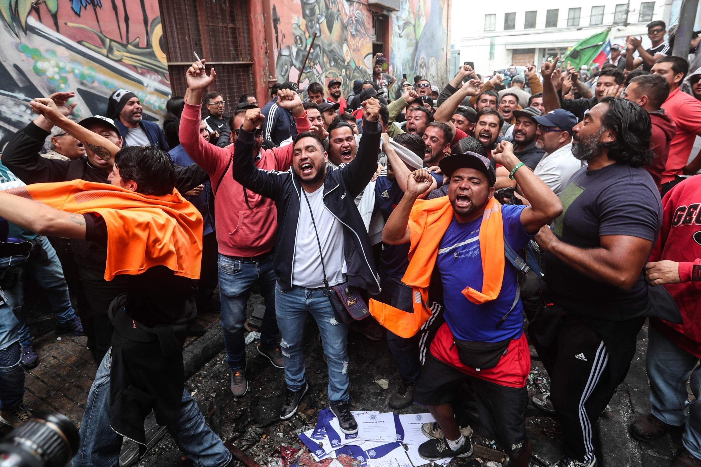 Chile presenta una baja tasa de sindicalización (16.5% de los trabajadores). (Foto: EFE)