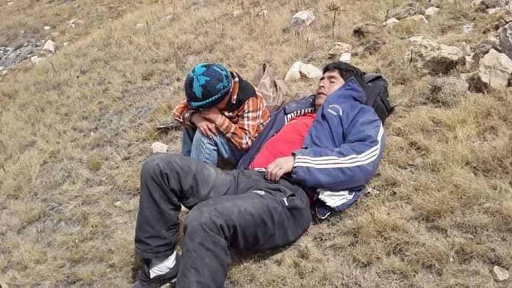 El menor logró que un equipo de rescate busque a su progenitor y lo traslade a un hospital. (Raúl Montero)