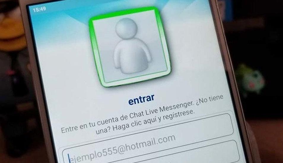 Messenger Live fue el chat más popular entre los jóvenes en el año 2000. (Foto: Captura)