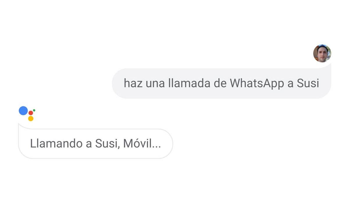 Ya puedes realizar llamadas y videollamadas de WhatsApp usando Google Assistant.