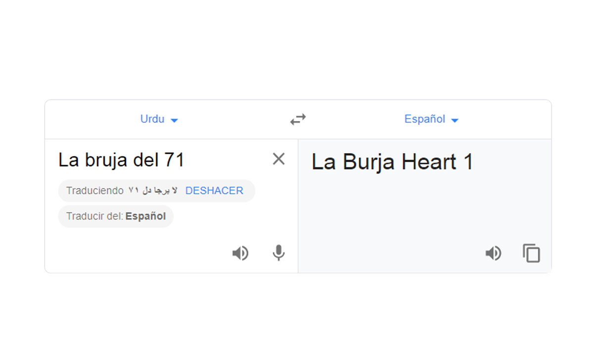 ¿Sabes por qué se da este error en Google Translate si traduces