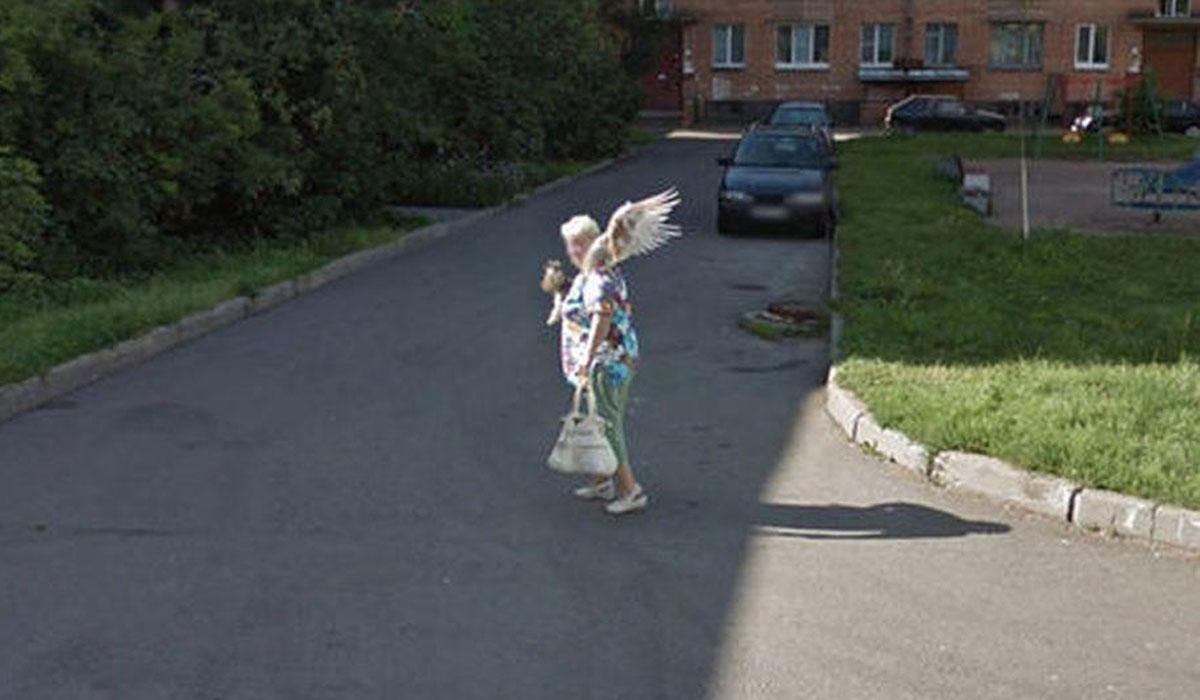 Esta es la imagen que genera una serie de teorías en Google Maps.