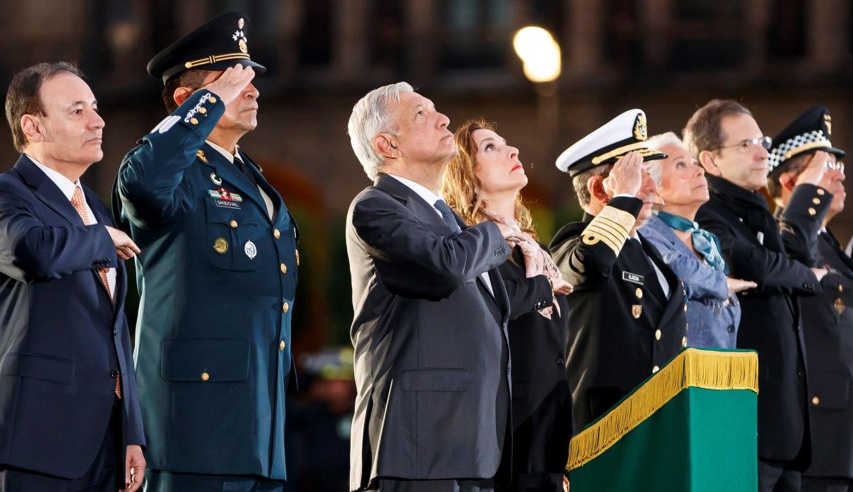 El presidente de México estuvo presente en la ceremonia de conmemoración. (Foto: EFE)