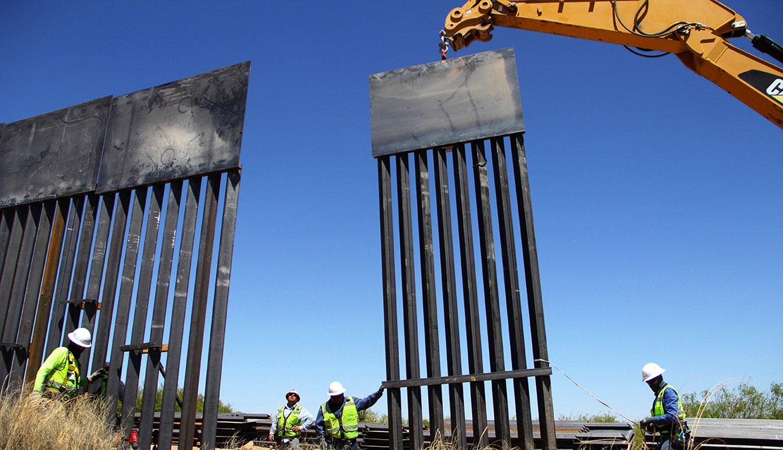 Estados Unidos, bajo el gobierno de Donald Trump, está empecinado en levantar un muro en la frontera con México. (Foto: AFP)