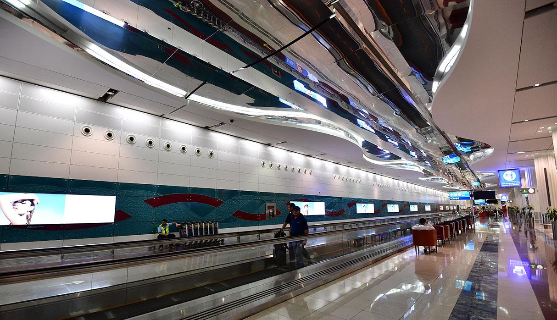El aeropuerto de Dubai es uno de los más importantes del mundo. (Foto: AFP/Archivo)