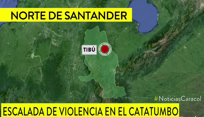 Una de las hipótesis que maneja la policía es que un grupo disidente de las FARC pudo organizar el ataque. (Foto: Captura)