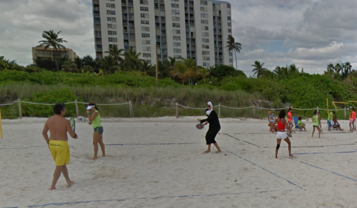 Este es el detalle que dejó perplejo al usuario que buscó las playas de Miami. (Foto: Google)