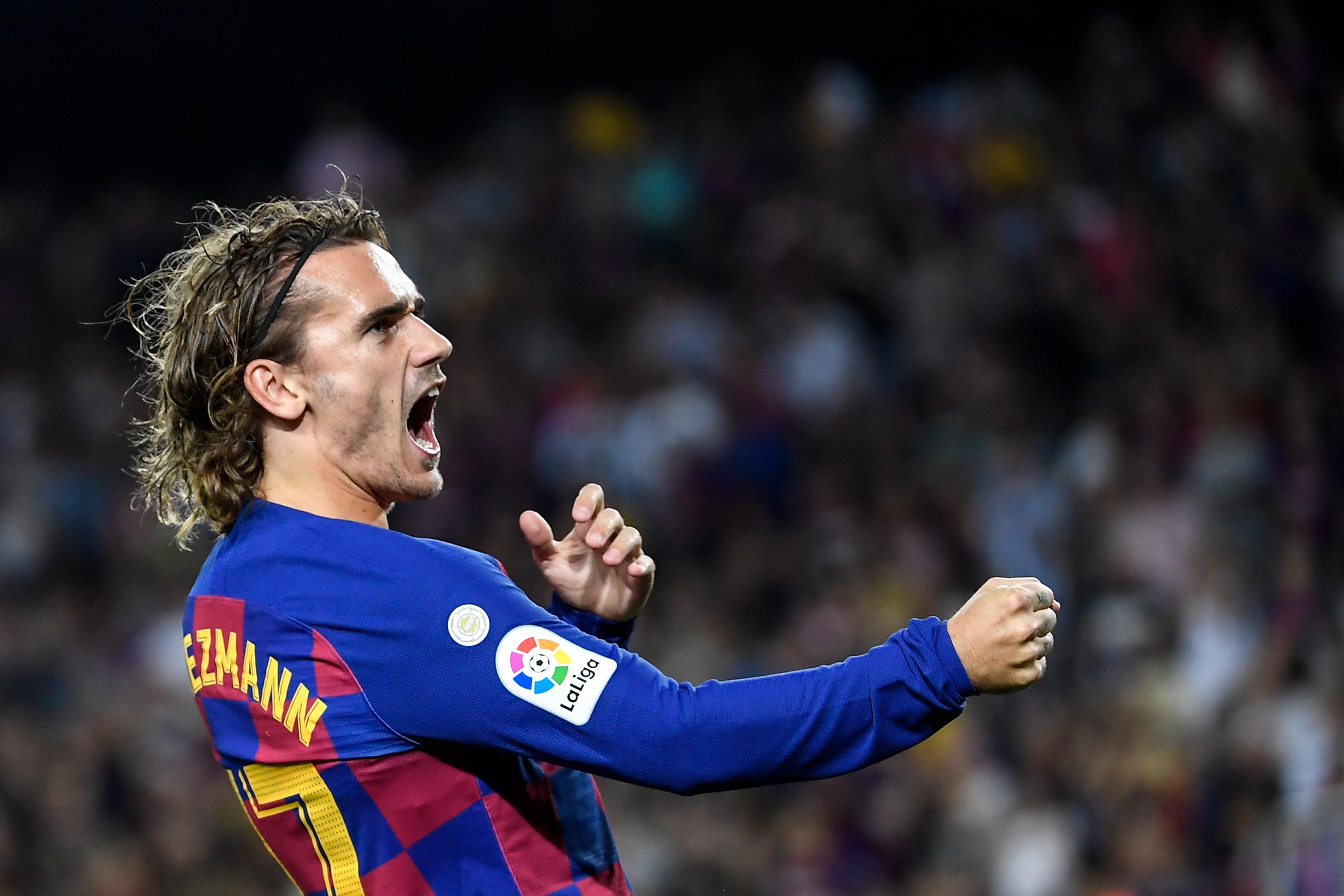 Antoine Griezmann tiene 3 goles con camiseta del Barcelona. (Foto: AFP)