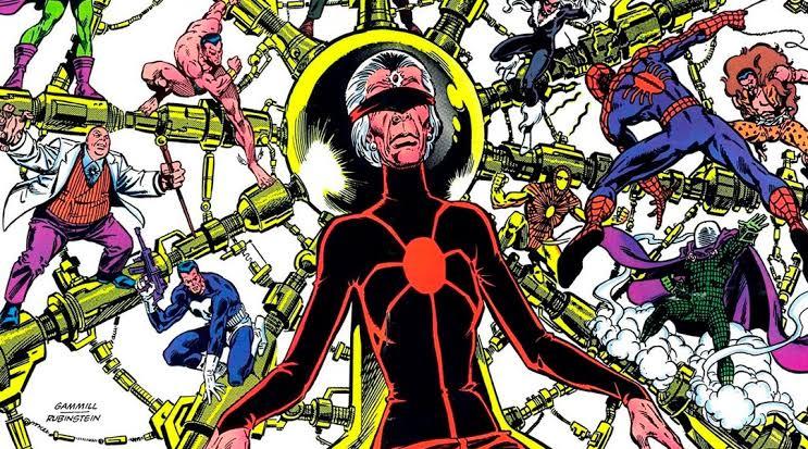 Madame Web hizo si primera aparición en los cómics