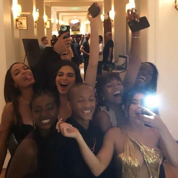 Algunos de los invitados al matrimonio de los famosos. (Foto: Instagram)