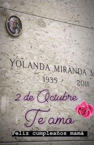 Thalía recuerda el cumpleaños de su madre a 8 años de su partida. (Foto: Instagram)