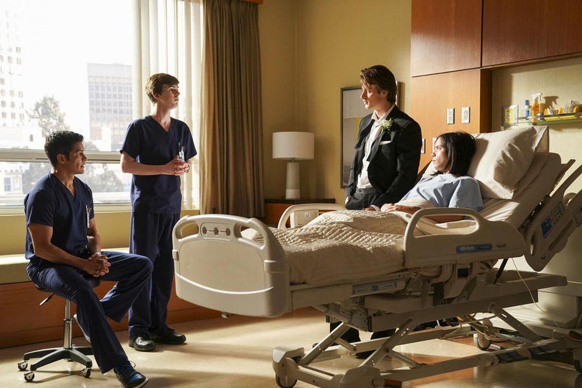 El doctor Shaun Murphy regresó al Hospital San Jose St. Bonaventure. (Foto: ABC)