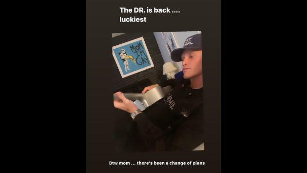 Miley Cyrus fue hospitalizada y Cody Simpson la acompañó. (Imagen: Instagram)