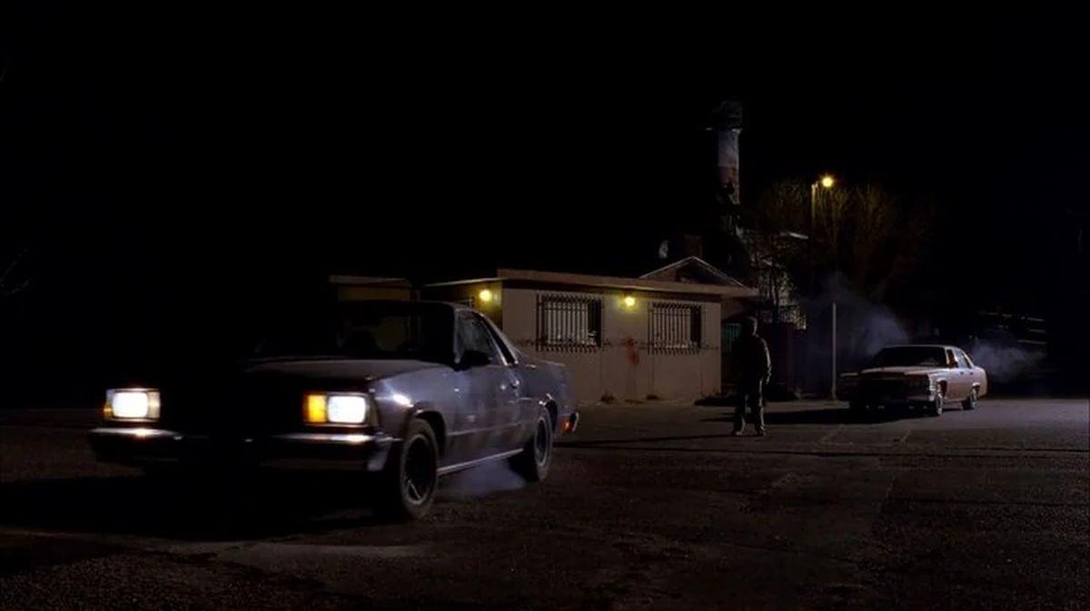 Jesse se escapa de la pandilla de los nazis en un 1978 Chevrolet El Camino, de propiedad Todd Alquist. (Foto: Netflix)