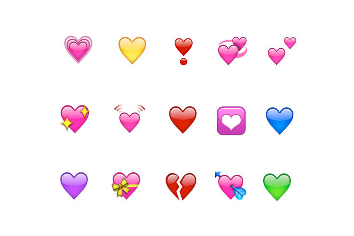WhatsApp cuenta con varios corazones en su plataforma de mensajería. (Foto: WhatsApp)