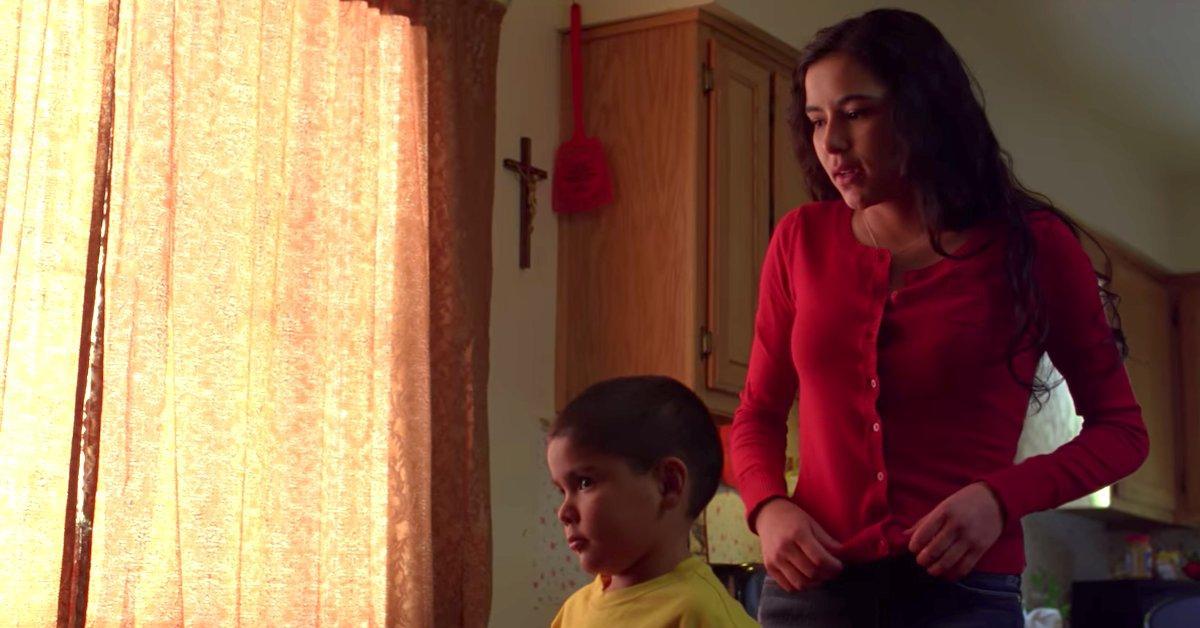 Andrea Cantillo y su hijo Brock. (Foto: Breaking Bad)
