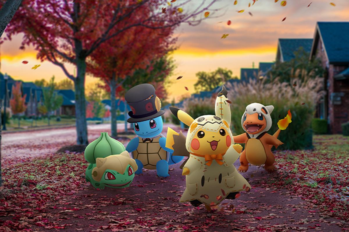 Algunas criaturas aparecerán con disfraces en las incursiones de nivel 1. (Foto: Pokémon GO)