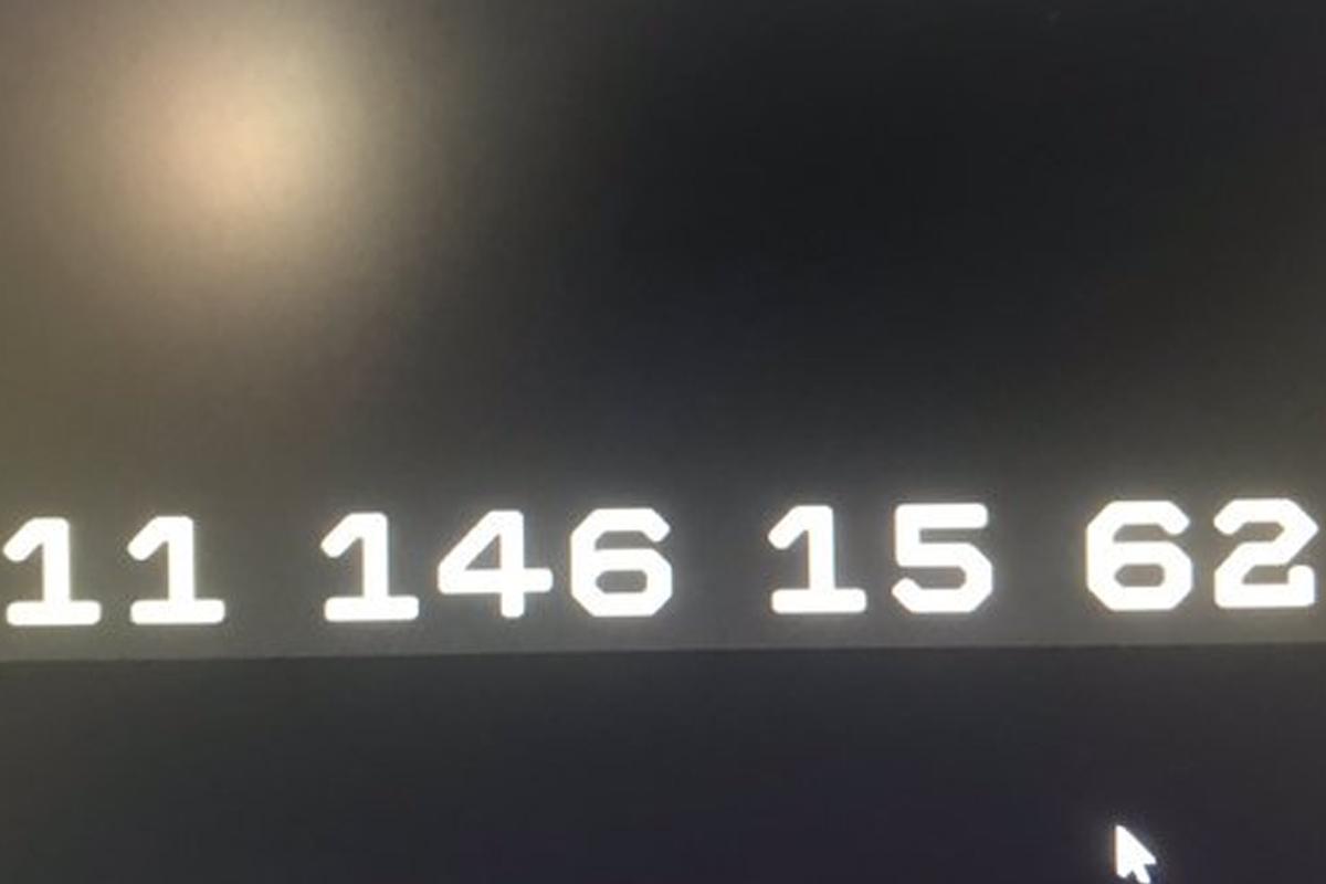 Estas son las extrañas coordenadas que se muestran en el agujero negro de Fortnite. (Foto: Captura)