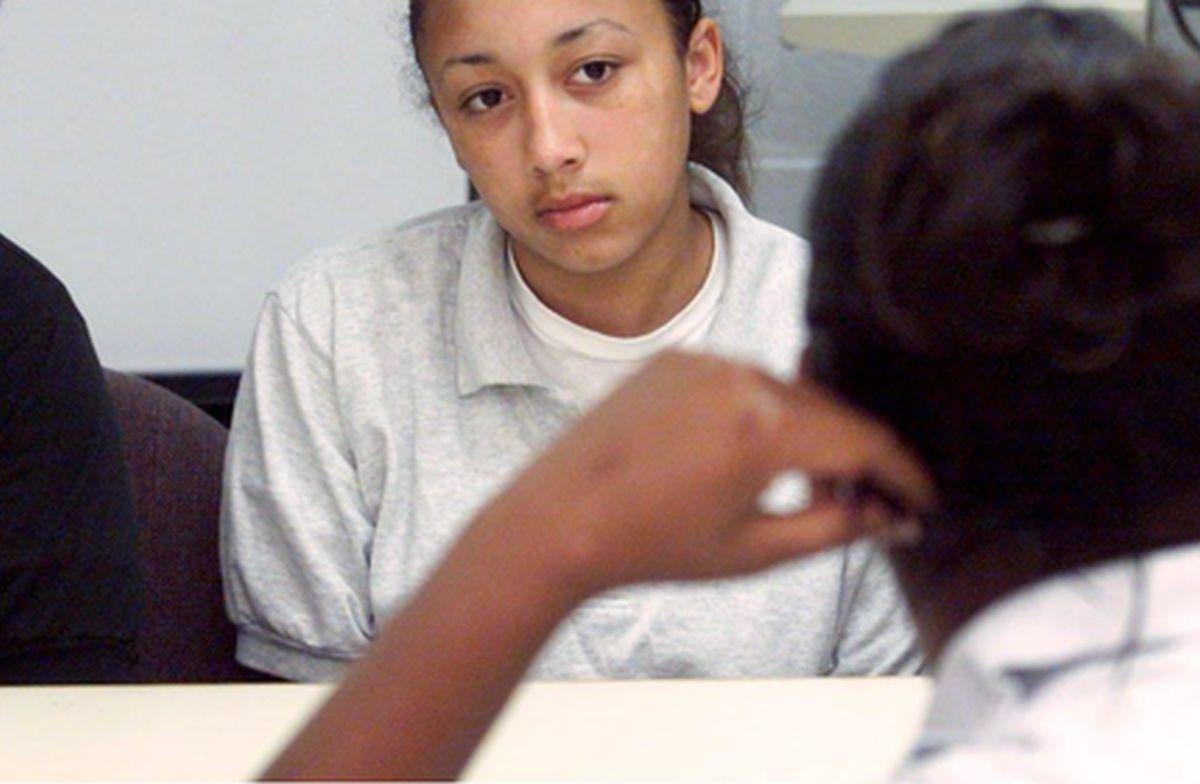 Cyntoia Brown cuando era adolescente y fue internada en el penal. (Foto: USA Today)