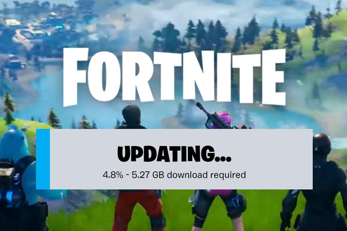 Algunos usuarios han informado que en los dispositivos móviles, la nueva actualización de Fortnite pesa 5.67 GB. (Foto: Captura)
