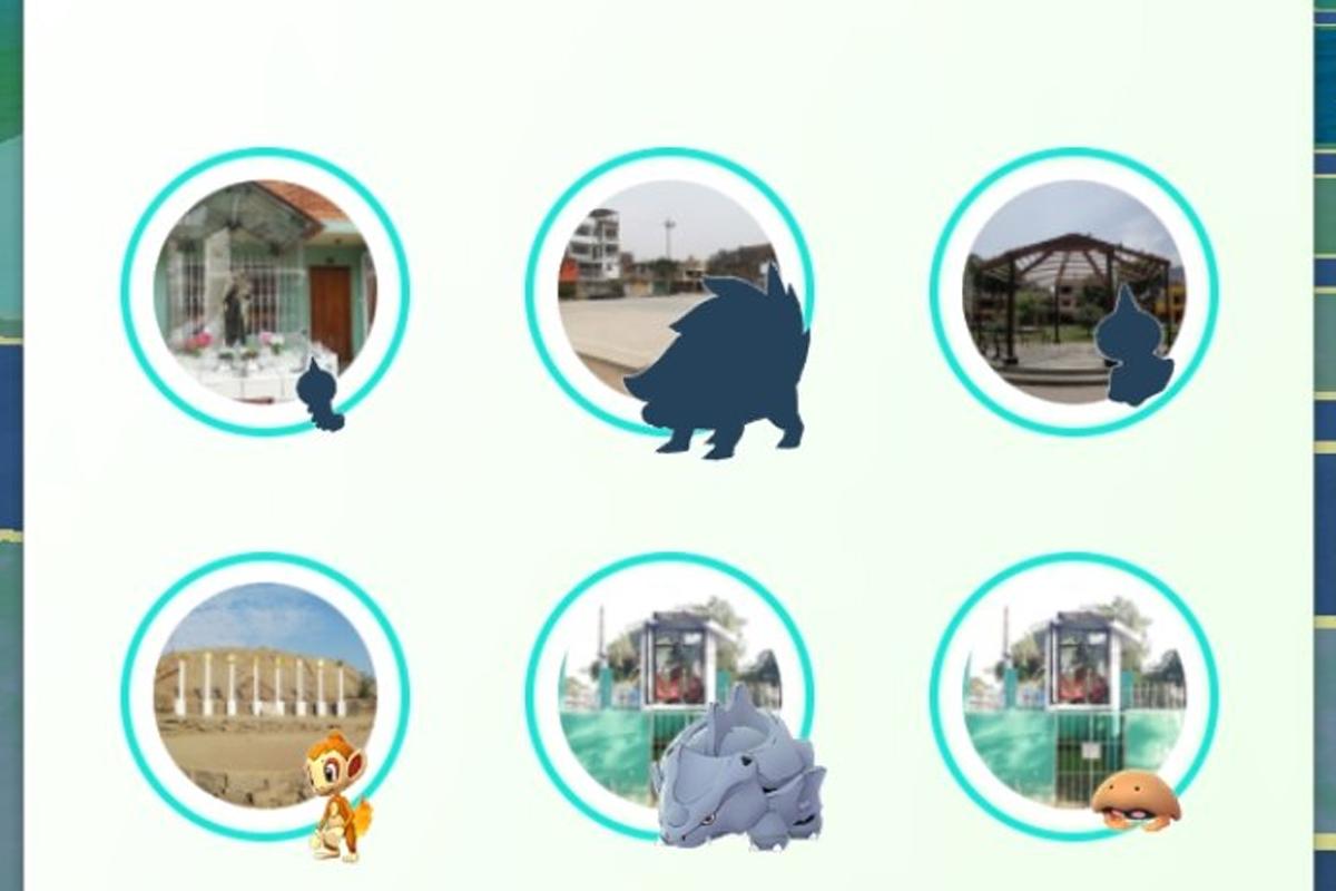 Estos son algunos Pokémon que aparecen en sombra. (Foto: Nintendo)