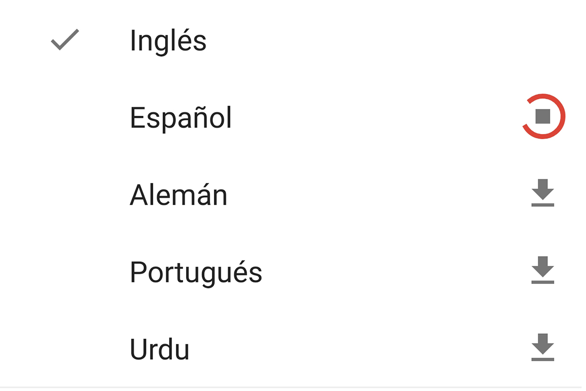 De esta forma podrás descargar los idiomas que desees. (Foto: Captura)
