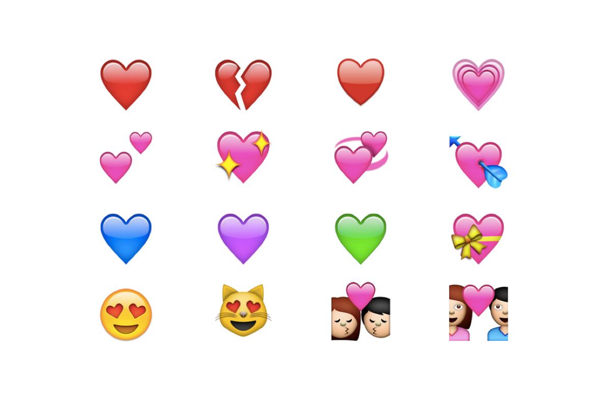 Conoce el significado de todos los corazones de WhatsApp. (Foto: Emojipedia)