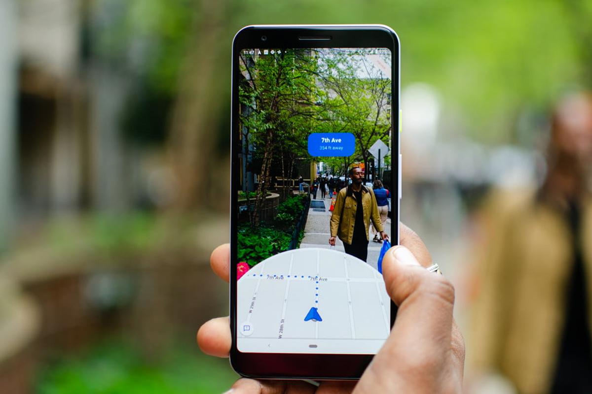 Google Maps también está probando el GPS en real escala. (Foto: Google)