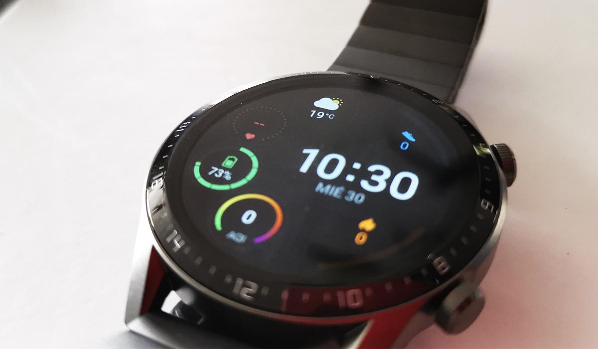 ¿Qué es lo que trae la caja del Huawei Watch GT 2? Conoce todo en este unboxing. (Foto: La Prensa)