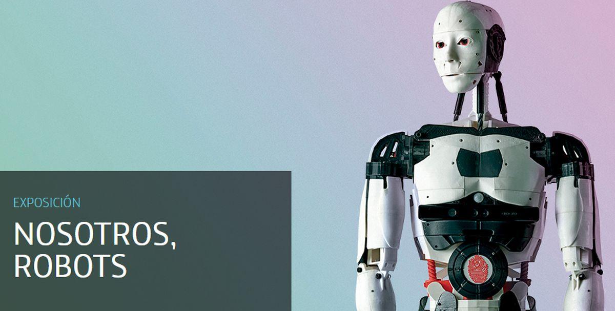 La muestra reflexiona, a través de una selección de cerca de cincuenta robots, sobre los retos a los que se enfrenta la humanidad ante el desarrollo imparable. (Foto: Espacio Fundación Telefónica)