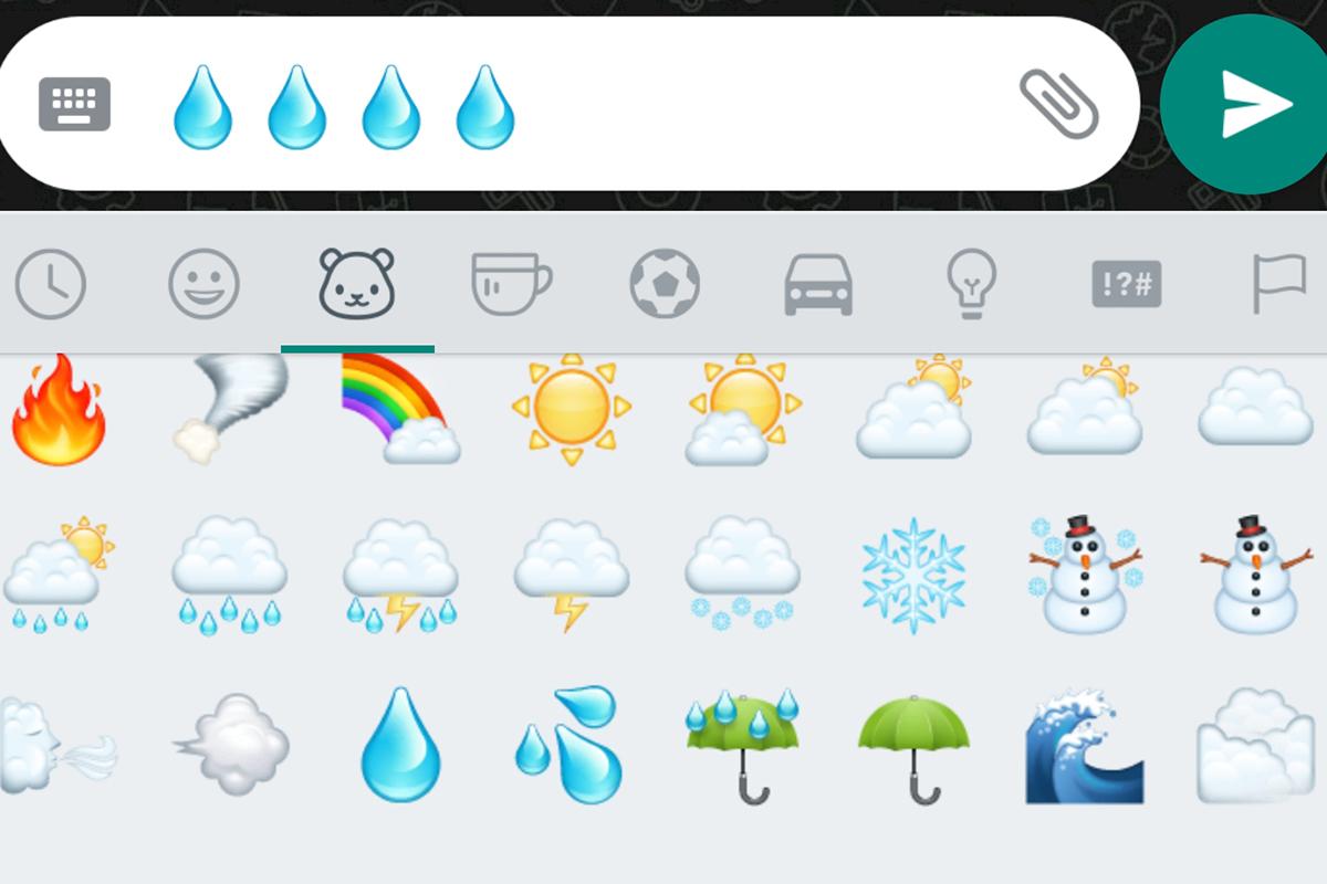 Según Emojipedia este emoji se puede usar para expresar tristeza. (Foto: WhatsApp)