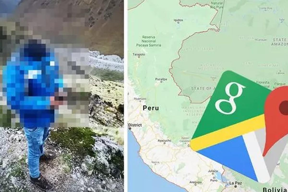 ¿Por qué el hombre salió sin cabeza en Google Maps? (Foto: Google)