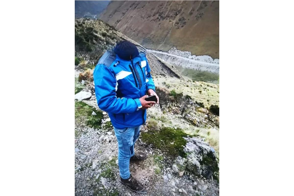 Así luce el hombre captado en plena sierra peruana. (Foto: Google Maps)