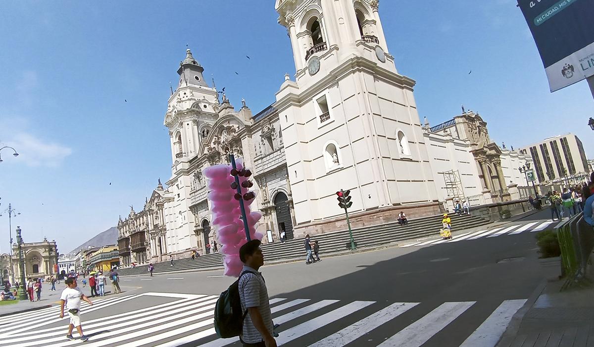 Así toma las fotos el LG Q60. (Foto: La Prensa)