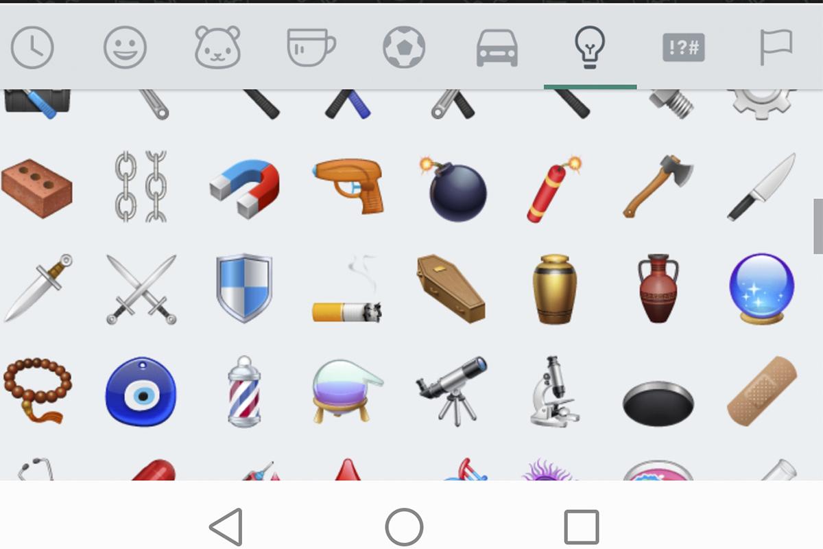 ¿Alguna vez utilizaste el emoji del ataúd? Conoce para qué sirve. (Foto: WhatsApp)
