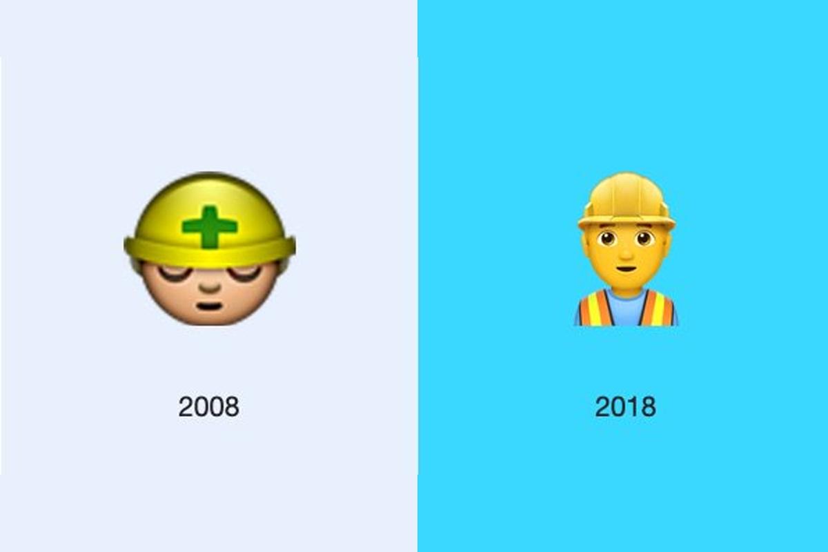 Este es el cambio del obrero de WhatsApp. (Foto: Emojipedia)