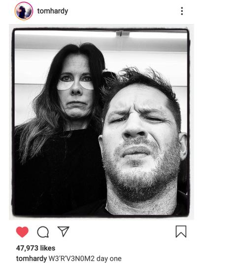 Tom Hardy confirma inicio de grabaciones de