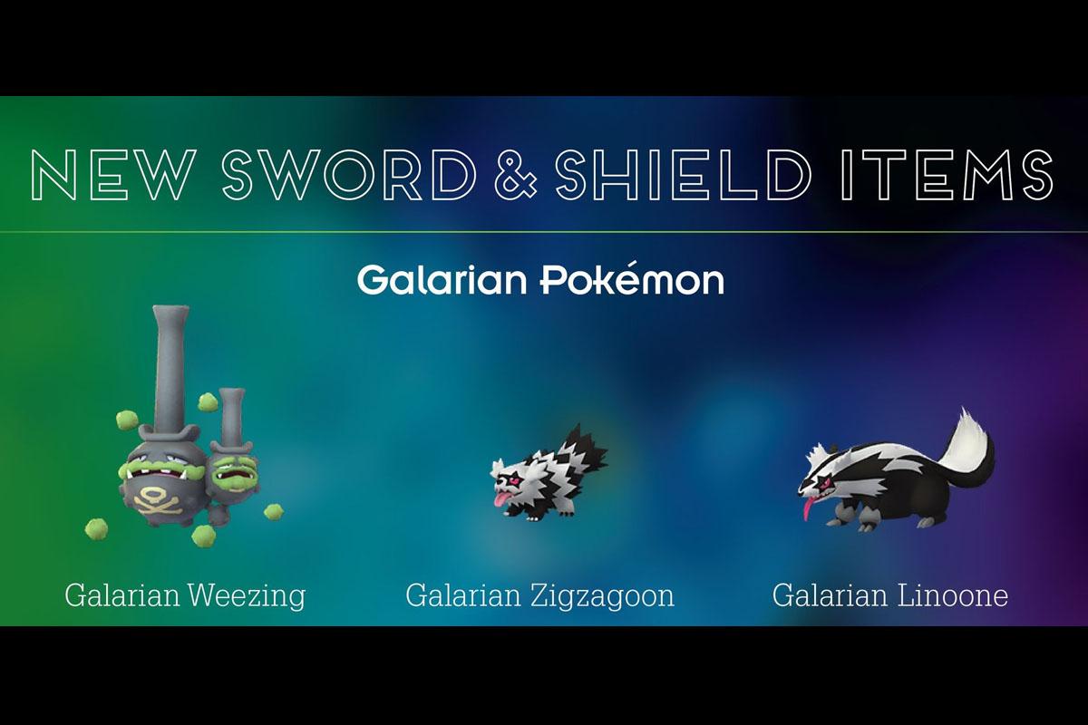 Estos son algunos Pokémon de Galar que llegarán a Pokémon GO. (Foto: Nintendo)