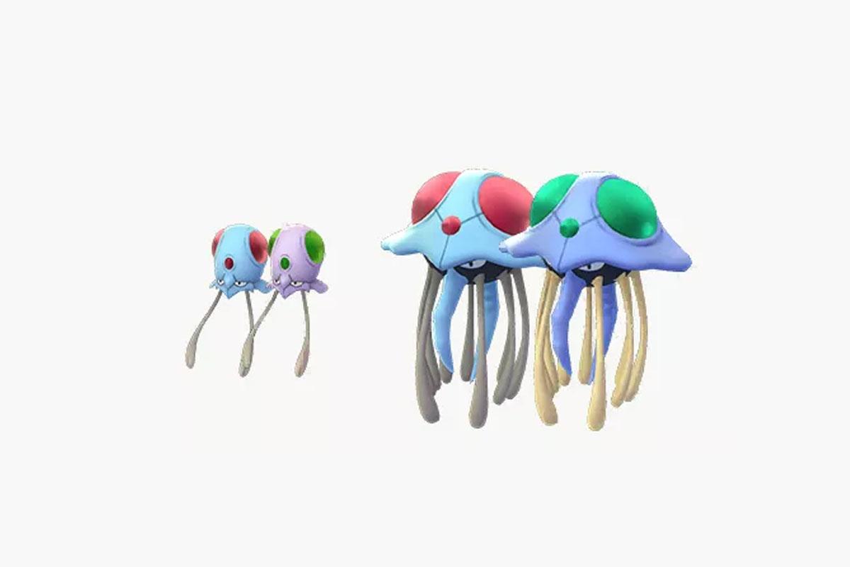 Durante la semana Supereficaz podrás obtener a Tentacool y Tentacruel en su forma shiny. (Foto: Pokémon)