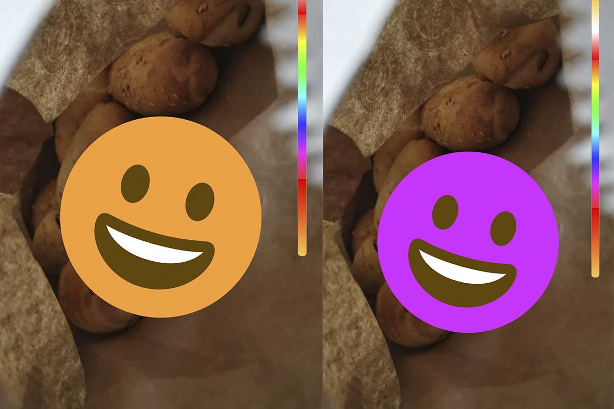 La posibilidad de cambiar de colores todos los emojis de la aplicación se pueden ejecutar desde los Estados. (Foto: WhatsApp)